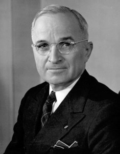 President Harry S Truman – The former Missouri Haberdasher Gave the Nod to the Military Industrial Complex